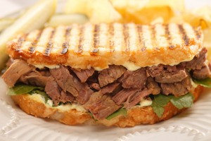 Beef and Horseradish Sauce Sandwich Recipe