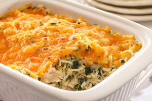 Chicken Spinach Bake Recipe