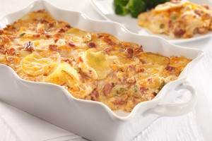 Ham & Cheese Casserole Recipe