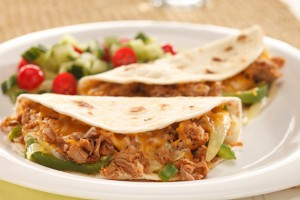 Pulled Pork & Cheese Quesadilla Recipe