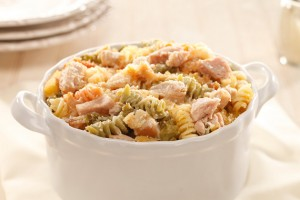 Turkey Spiral Casserole Recipe
