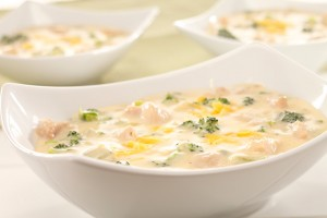 Broccoli & Turkey Chowder Recipe