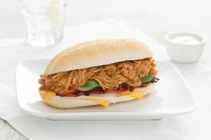 Chipotle Chicken Hoagies Recipe