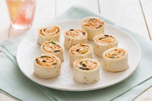 Mediterranean Chicken Pinwheels Recipe