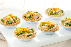 Mini Chicken & Broccoli Pies with Cheddar Recipe