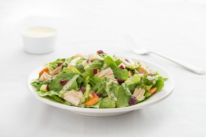 Chicken & Romaine Lettuce Salad Recipe