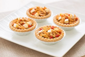 Curry Chicken & Brie Tartlets Recipe