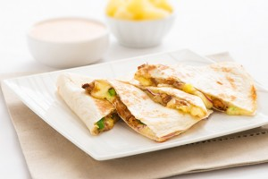 Teriyaki & Pineapple Quesadillas Recipe