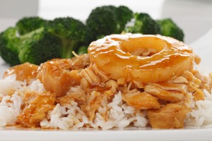 Candied Pineapple Chicken Recipe