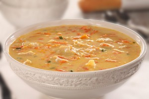 Thick N' Hearty Chicken Cheese Soup Recipe