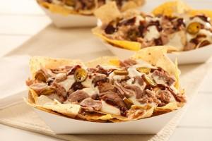 Barbeque Pork Nachos Recipe