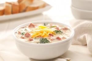 Broccoli & Ham Chowder Recipe