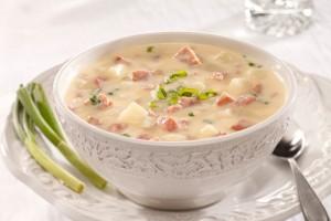 Chunky Potato & Ham Soup Recipe