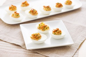 Chicken Chipotle Devilled Eggs Recipe