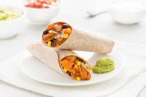 Chipotle Chicken & Sweet Potato Burrito Recipe