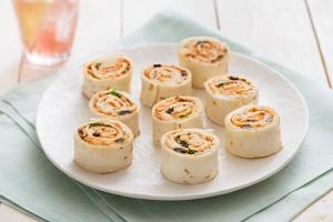 Mediterranean Chicken Pinwheels Recipe