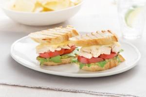 Mini Chicken Caprese Sandwiches Recipe