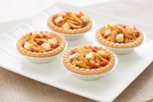 Curry Chicken & Brie Tartlets Recipe