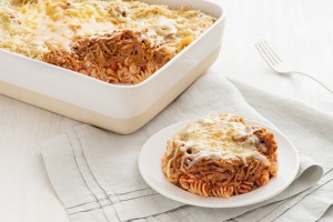 Lazy Chicken Fajita Lasagna Recipe