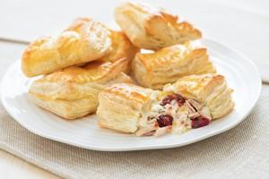 Turkey-Cranberry Turnovers Recipe
